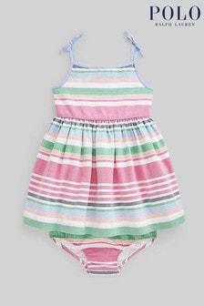 Ralph Lauren Multicoloured Stripe Dress