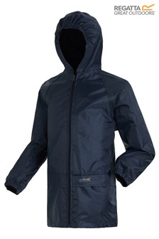 Regatta Navy Kids Stormbreak Jacket