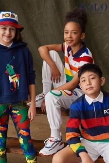 Ralph Lauren Multicoloured Stripe Logo Polo Shirt