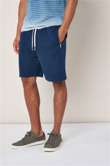 Textured Jersey Shorts