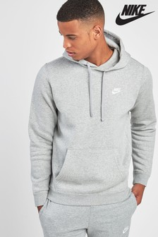 Nike Grey Club Hoody