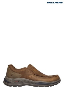 Skechers® Brown Arch Fit Motley Hust Slip-On Shoes
