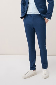 Stretch Twill Suit: Trousers
