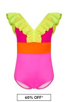 Nessi Byrd Multi Girls Multicoloured Swimsuit