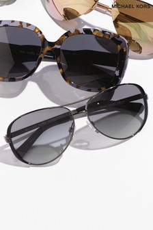 Michael Kors Black Rim Edge Sunglasses