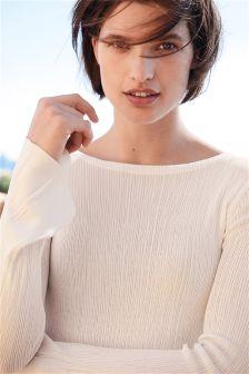 Crinkle Sweater