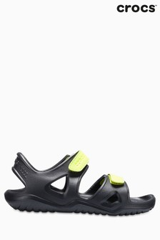Crocs™ Swiftwater River Sandalen, schwarz