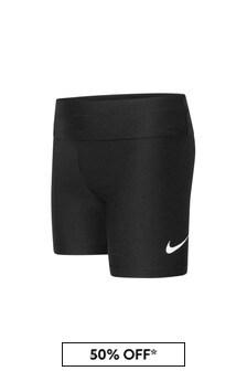Nike Girls Black Shorts
