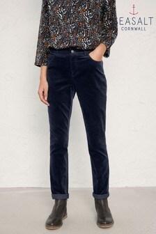 Seasalt Blue Lamledra Trousers Midnight