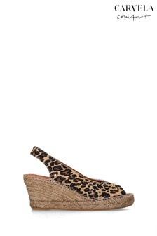 Carvela Comfort Sharon Leopard Wedges