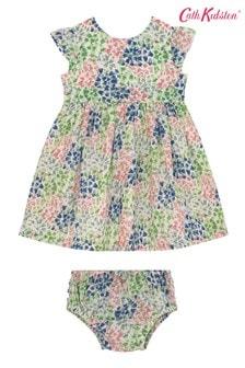 Cath Kidston Baby  Tiny Painted Bluebell Ayda Dress