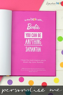 Personalised You Can Be Anything Barbie Book by Signature Book Publishing