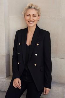 Emma Willis Gold Button Jacket