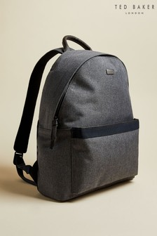 Ted Baker Grey Setgo Textured Backpack