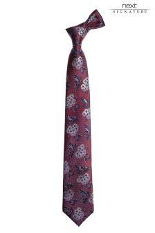 Коллекционный шелковый галстук