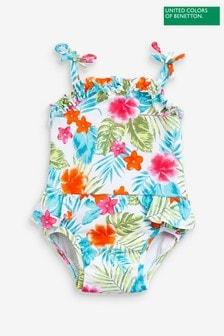Benetton Multi Floral Swimsuit