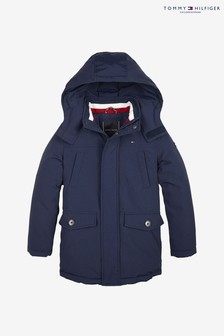 Tommy Hilfiger Boys Back to School Padded Parka Jacket