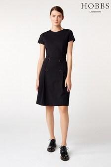 Hobbs Black Tali Dress