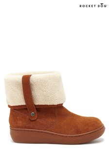 Rocket Dog Brown Sugar Mint Ankle Winter Boots