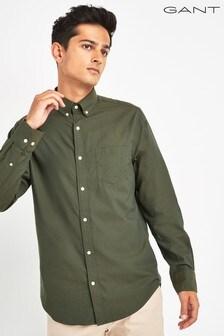 GANT Winter Twill Solid Regular Shirt