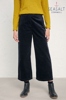 Seasalt Blue Dark Night Asphodel Trousers
