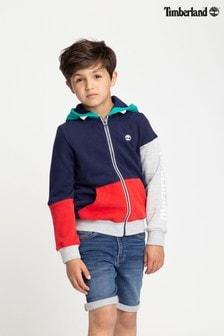 Timberland® Colourblock Zip Hoody