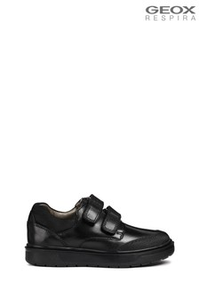 Geox Boys' Riddock Black Shoe