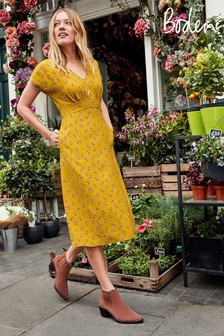 Boden Yellow Rosemary Dress