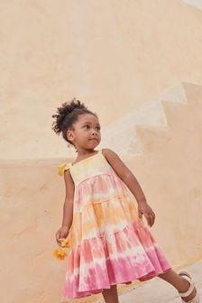 Organic Cotton Tie Dye Dress (3mths-7yrs)