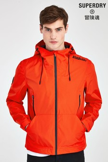 Superdry Red Elite Windbreaker Jacket