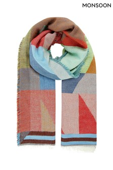 Monsoon Multi Miley Multi Shape Scarf