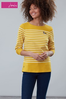 Joules Harbour Dachshund Embroidered Long Sleeve Jersey Top