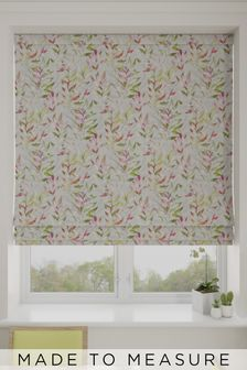 Asara Magenta Pink Made To Measure Roman Blind