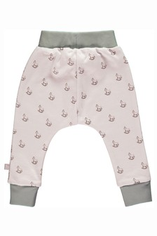 The Little Tailor White Cotton Comfy Pants