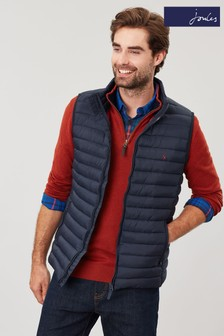 Joules Blue Go To Lightweight Padded Gilet