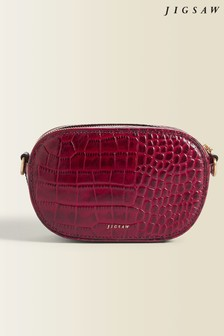Jigsaw Berry Otto Micro Leather Cross Body Bag