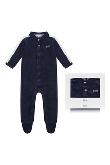 Baby Boys Cotton Babygrow