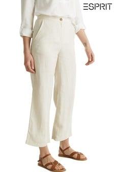 Esprit Cream Woven Culottes