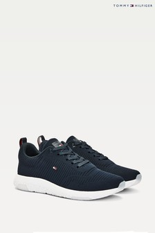 Tommy Hilfiger Blue Corporate Knit Runner Trainers