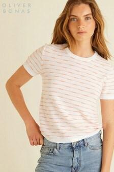 Oliver Bonas Broken Stripe T-Shirt