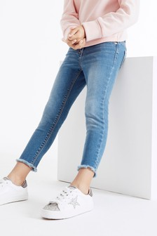 Floral Print Jeans (3-16yrs)