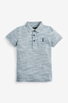 Textured Polo Shirt (3-16yrs)