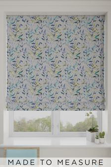Asara Sky Blue Made To Measure Roman Blind