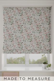Asara Rose Green Made To Measure Roman Blind