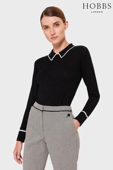 Hobbs Black Nicole Sweater