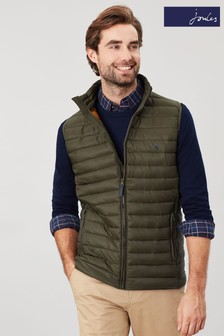 Joules Green Go To Lightweight Padded Gilet