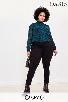 Oasis Curve Black Jade Jeans