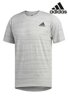 Серая футболка adidas Tech