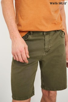 White Stuff Green Griesdale Coloured Denim Shorts