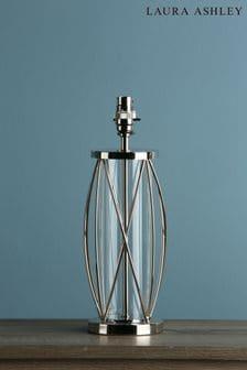Chrome Beckworth Polished Lattice Table Lamp Base